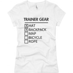 Trainer Gear List Basic Tee