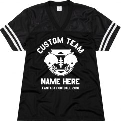 Custom Team Fantasy Football Text