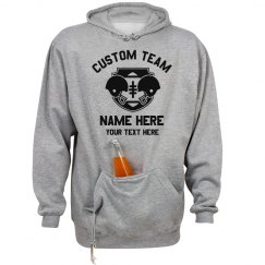 Custom Tailgate Football Text