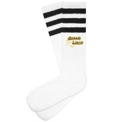 Guano Loco - Retro Striped Socks
