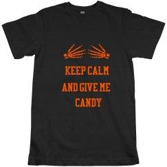 Halloween Keep Calm Tshir