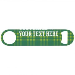 Custom St. Patrick's Bottle Opener