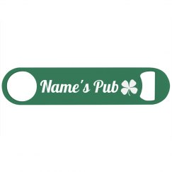 Custom Name Irish Pub or Bar
