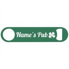 Custom Name Irish Pub or Bar