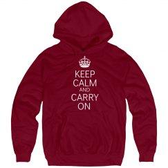 Keep Calm Hoodie