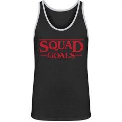 Stranger Squad Goals Muscle Tank