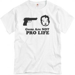 Guns Are Not Pro Life