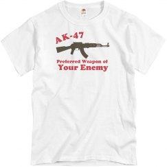 AK-47 Preferred Weapon