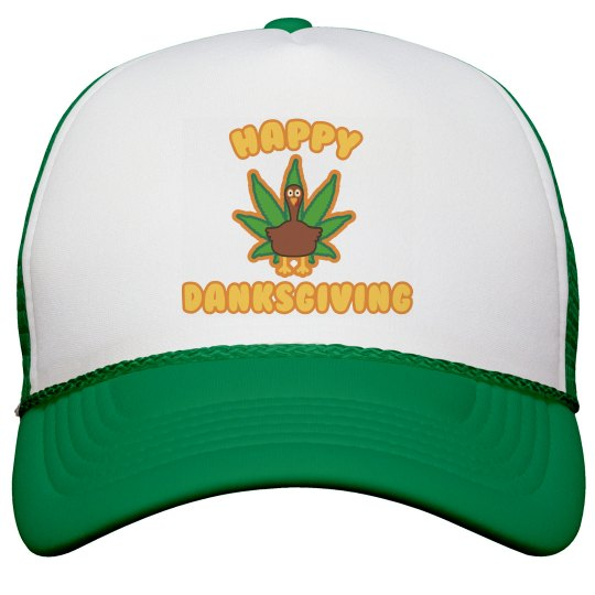 Danksgiving Weed Hat