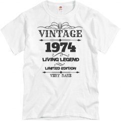 Vintage 1974 living legend very rare