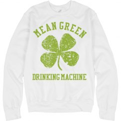 Mean Green Drinking...