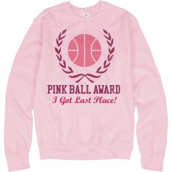 Pink Basketball Loser