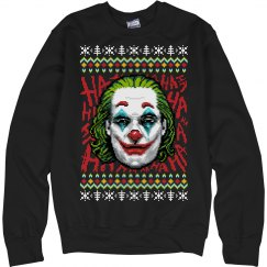 JOKER 2019 UGLY CHRISTMAS SWEATER