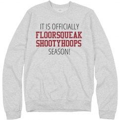 Floor Squeak Shooty Hoops