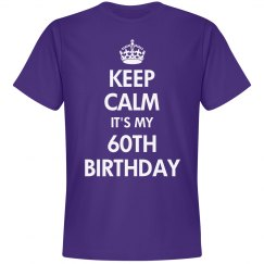 It's my 60th birthday