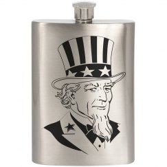 Uncle Sam Flask