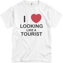 Looking Like A Tourist