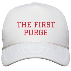 The First Purge Parody Hat