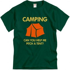 Camping Help Pitch Tent?