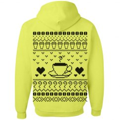 Ugly Christmas Hoodies for Coffee Lovers
