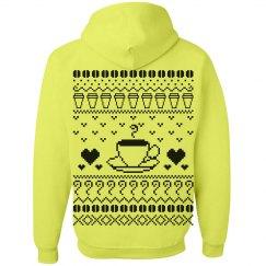 Ugly Christmas Hoodies for Coffee Lovers