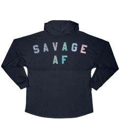 Savage As Fuck Glitter Design