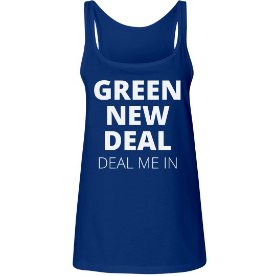 Deal Me In Green New Deal