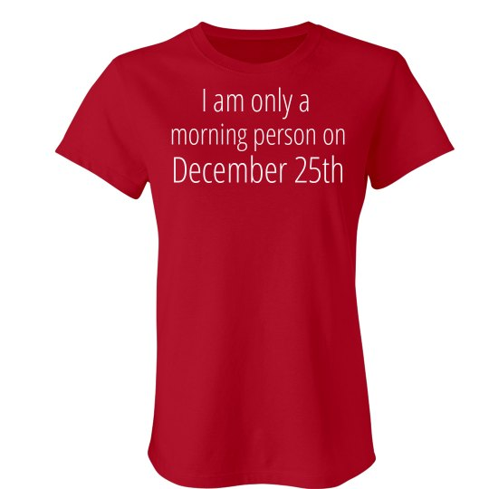 December 25th Morning