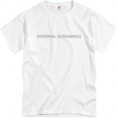 Internal Screaming Tee
