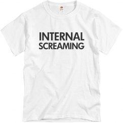 Screaming Internally
