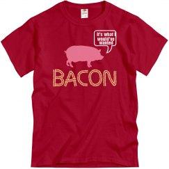 Talking Bacon Pig