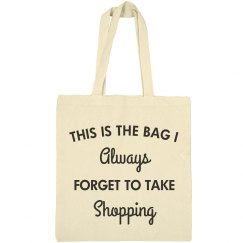 I Always Forget To Take My Bag