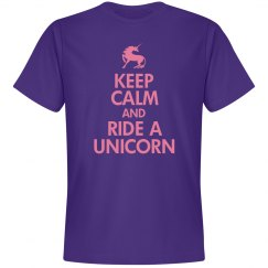 Keep Calm/Ride A Unicorn