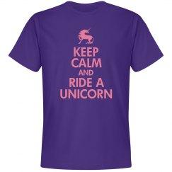 Keep Calm/Ride A Unicorn