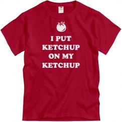 Dad Loves Ketchup