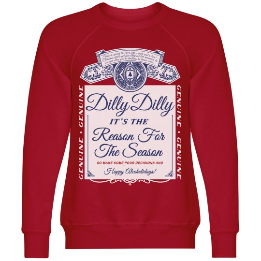 Dilly Dilly Beer Ugly Xmas Sweater