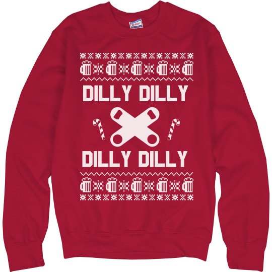Dilly Dilly Chirstmas Sweater