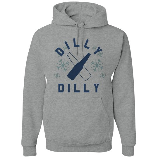 Dilly Dilly Drinking Winter Hoodie