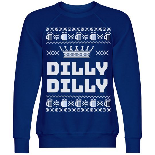 Dilly Dilly Light Beer Xmas Sweater