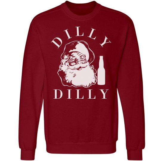 Dilly Dilly Santa Sweater