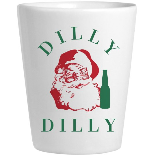 Dilly Dilly Santa With A Beer