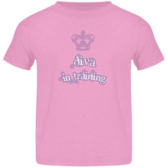 Diva in Training shirt