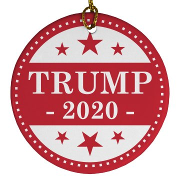 Donald Trump 2020 Gift Ornament