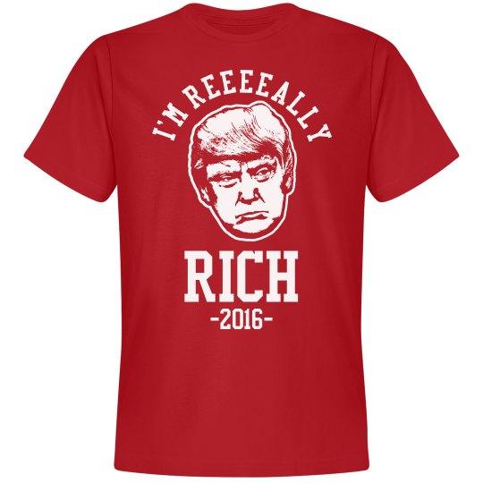 Donald Trump Is Rich