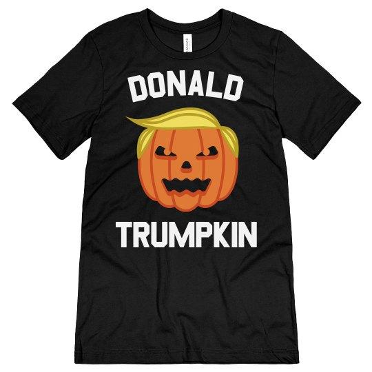 Donald Trumpkin Funny Halloween Tee