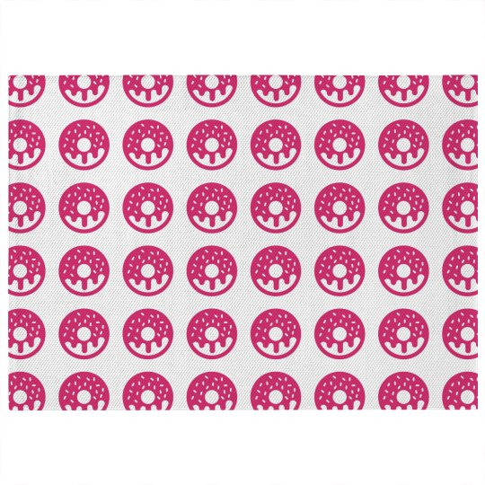 Donut Print 5x7 Rug