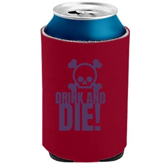 Drink And Die Skull