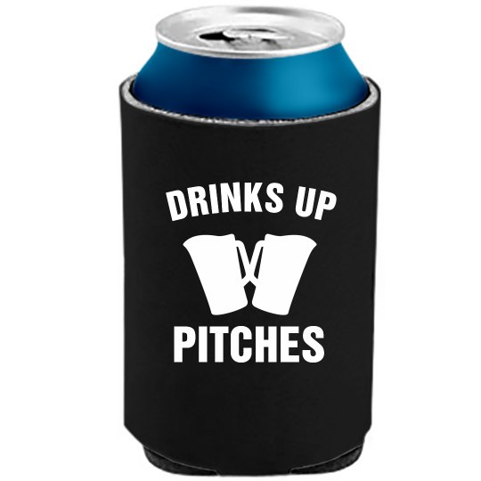 Drink Up Pitches Koozie