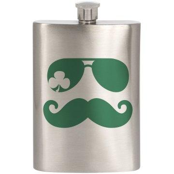 Drinking Clover Mustache