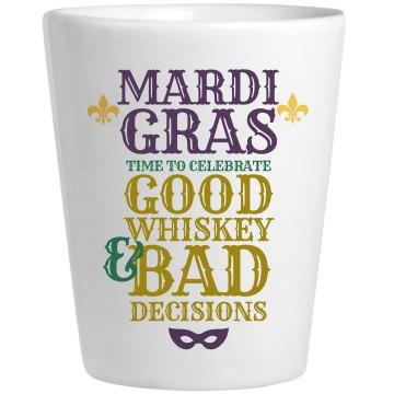 Drinking On Mardi Gras